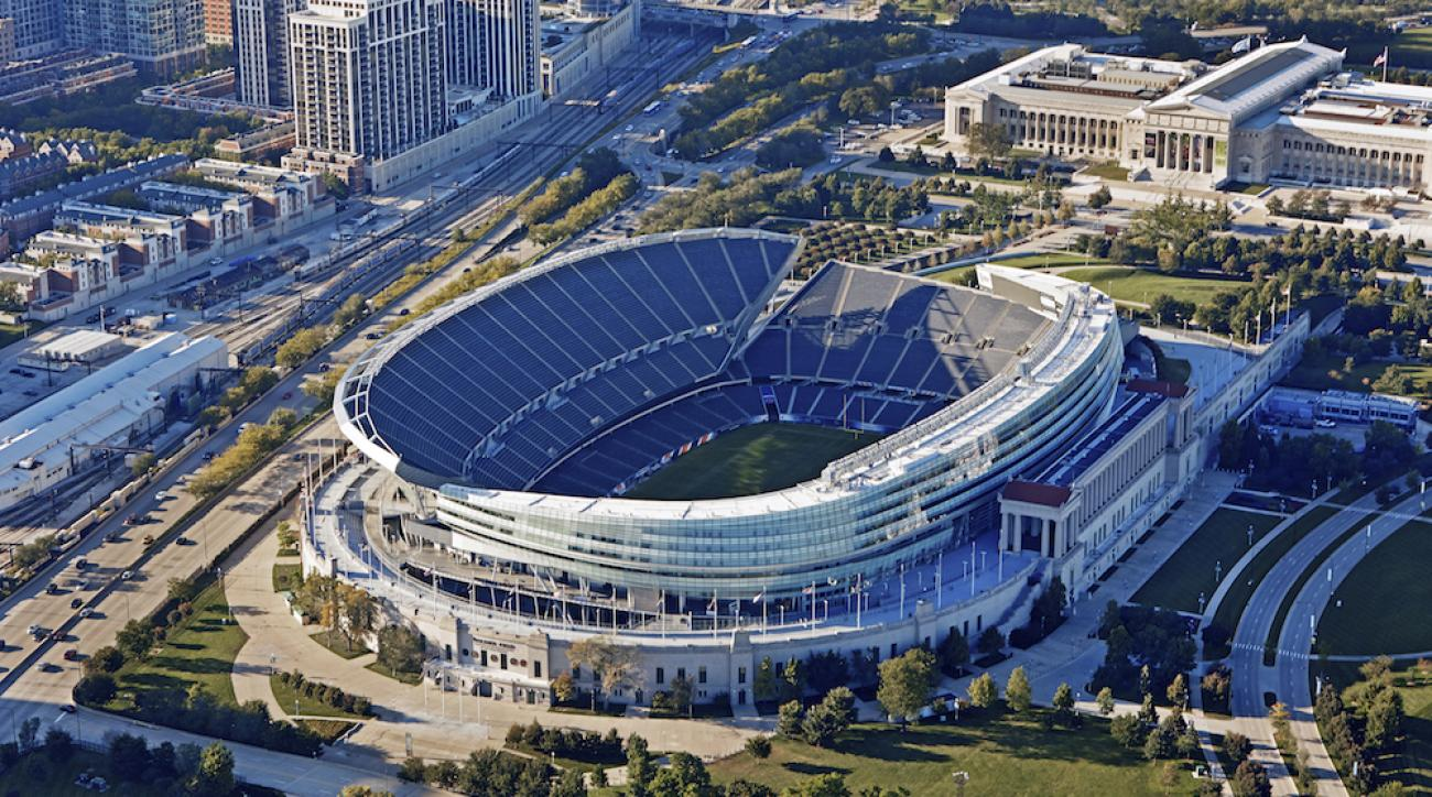 Illinois Northwestern To Play 3 Games At Soldier Field