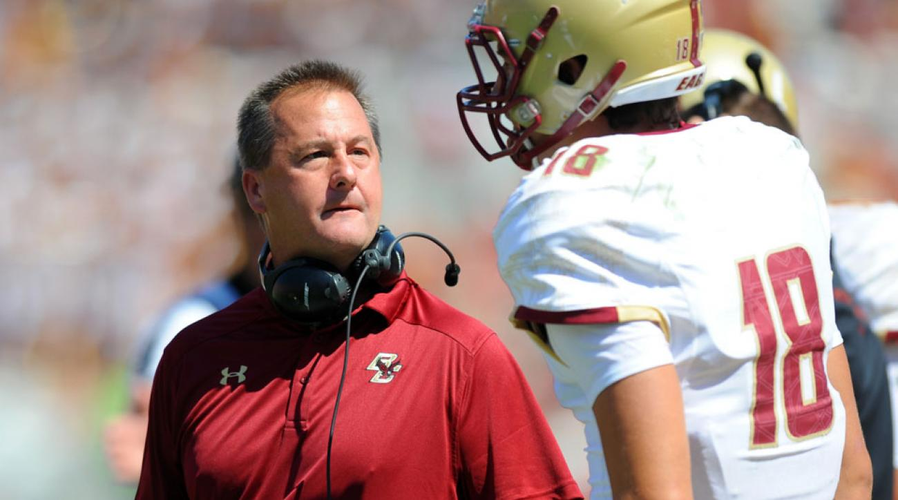 Boston College's Todd Fitch has been promoted to offensive coordinator