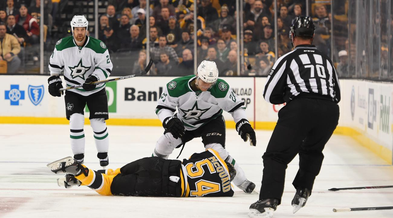 dallas stars antoine roussel disciplinary hearing