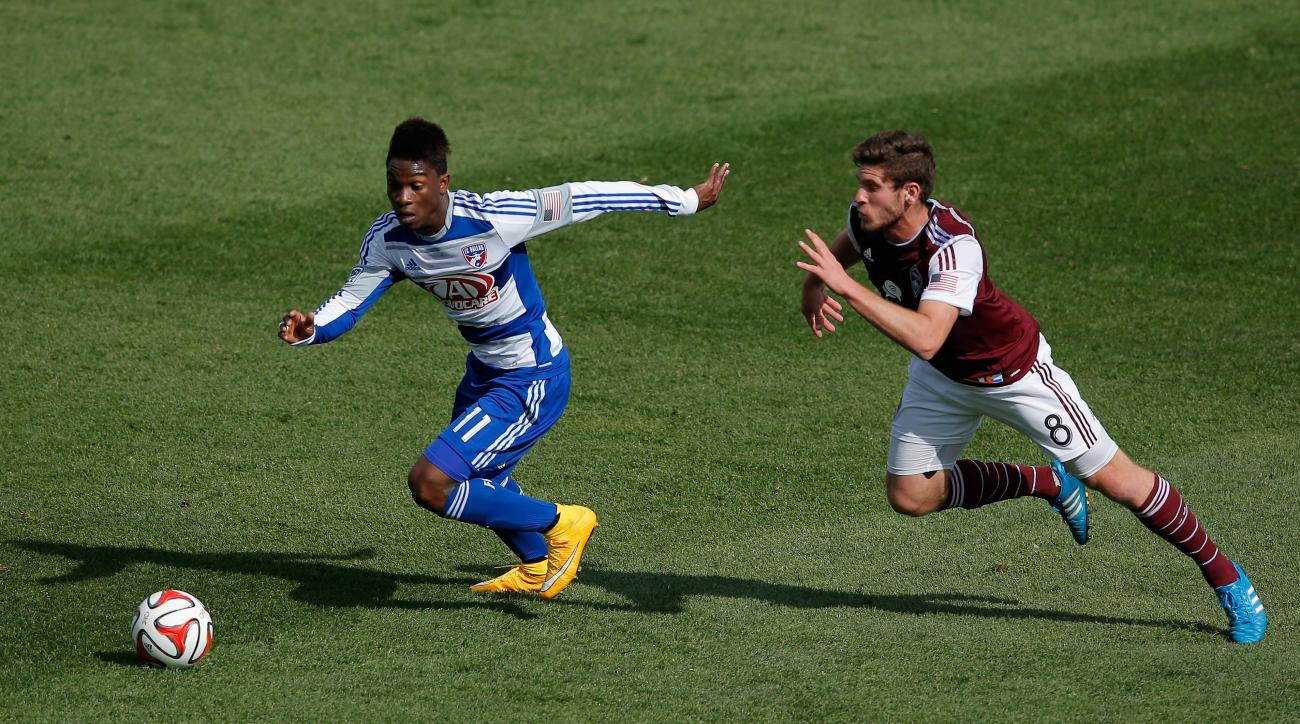 FC Dallas signs Fabian Castillo extension
