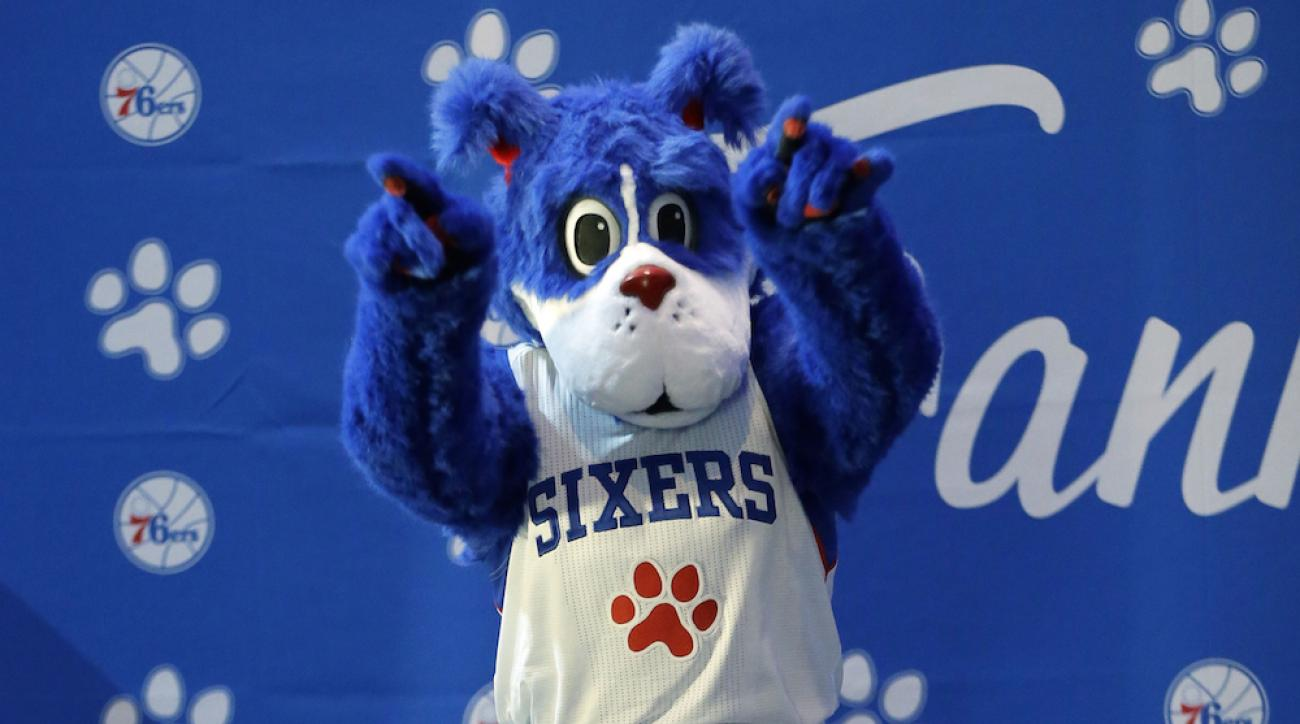 franklin philadelphia 76ers mascot
