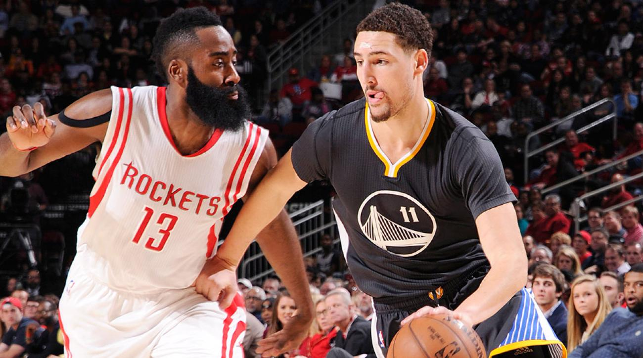 Steve Kerr selected James Harden and Klay Thompson as Western Conference starters.