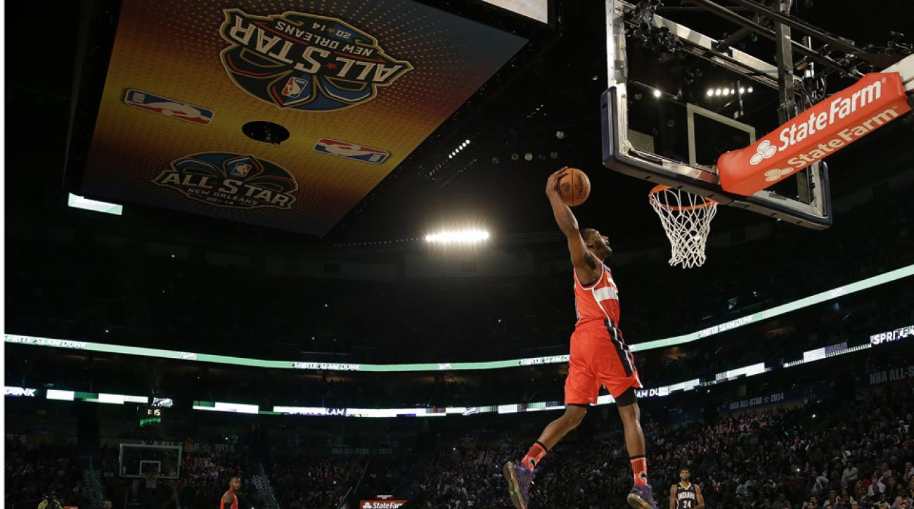 John Wall tries to defend Slam Dunk title