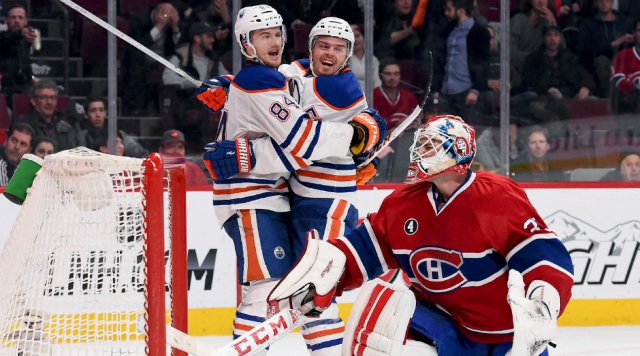 Canadiens give up game-winner to Oilers