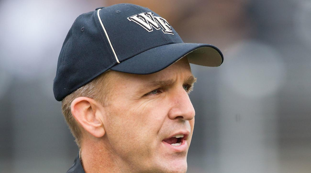 Former Wake Forest offensive coordinator Steed Lobotzke is leaving Richmond for Air Force.