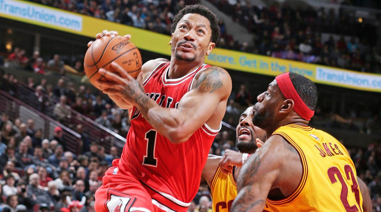 Derrick Rose scored 30 points in the Bulls victory over the Cavaliers.