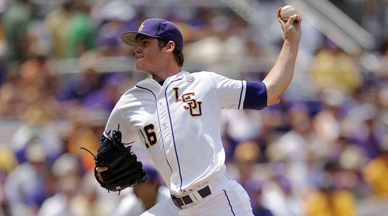 Jared Poche, LSU Tigers
