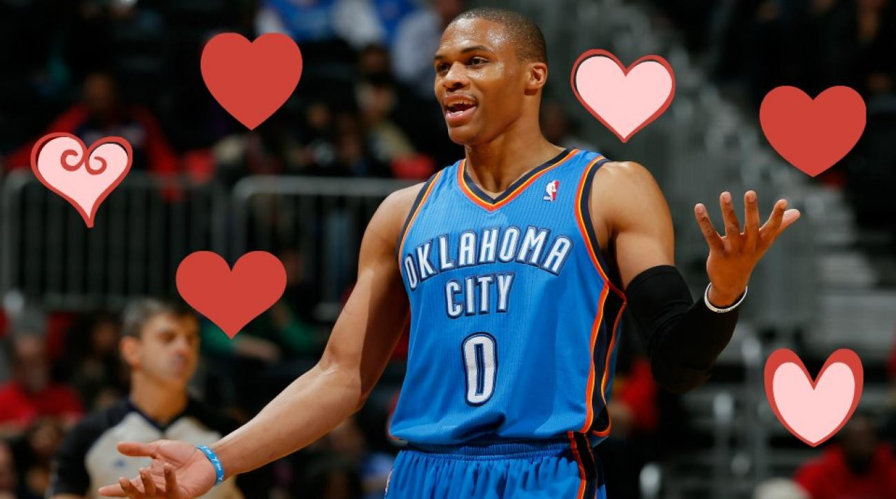 NBA All-Stars' Valentine's Day thoughts are kind of sad
