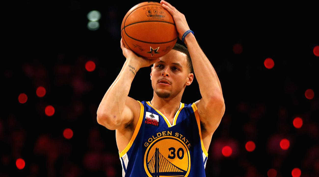 Stephen Curry won his first Three-Point Contest on Saturday night.