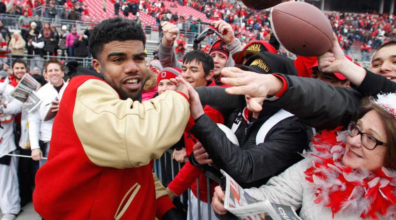 Ezekiel Elliott fan letter nominated nobel prize