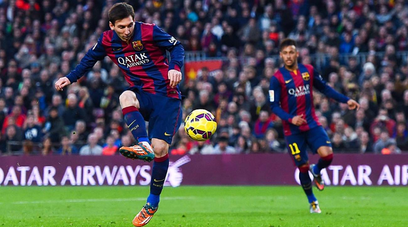 Messi hat trick vs. Levante