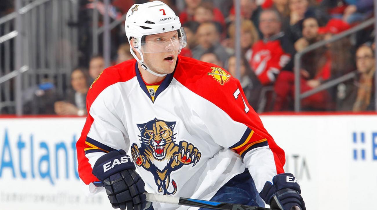 Dmitry Kulikov suspended four games tyler seguin hit