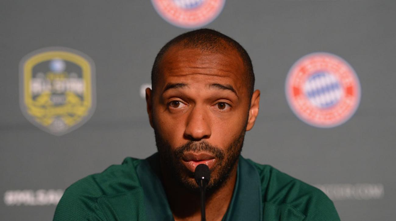 Arsenal Thierry Henry coaching offer