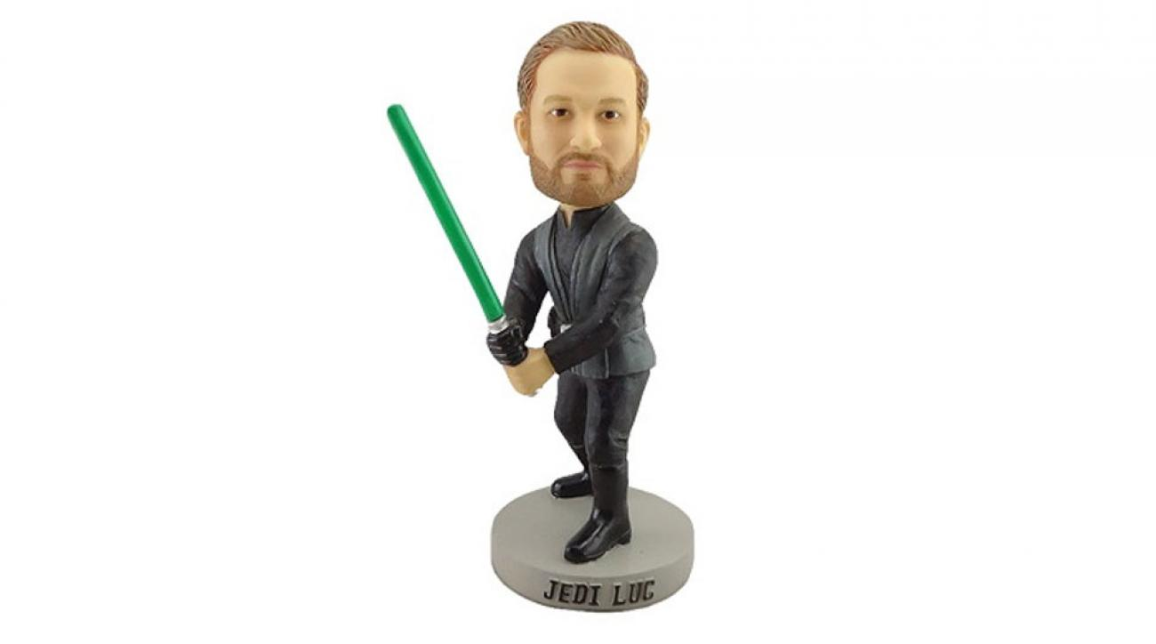 Jonathan Lucroy Jedi bobblehead