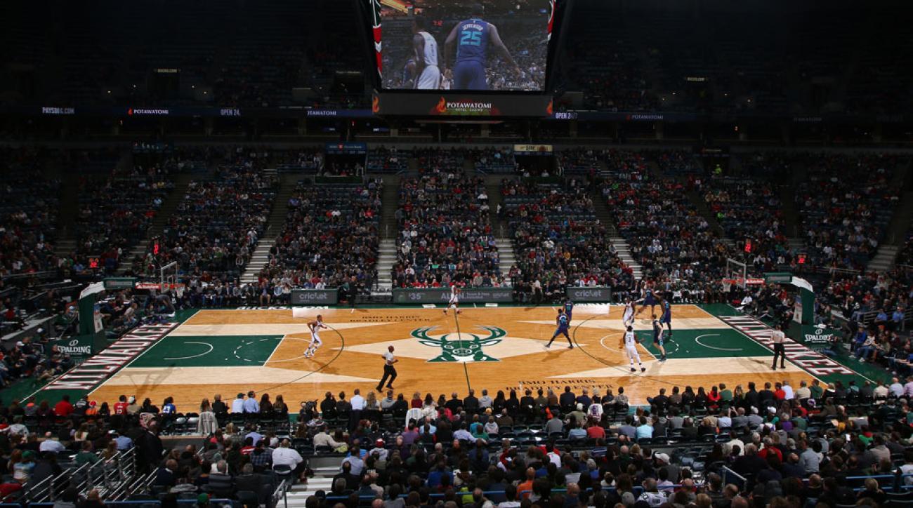 Milwaukee Bucks BMO Harris Bradley Center