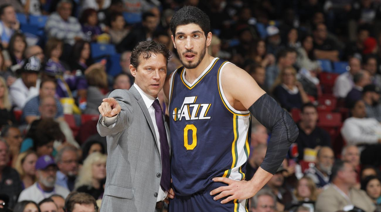2015 NBA trade deadline: Jazz not trying to trade Enes ...