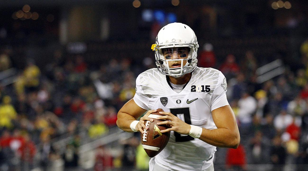 Marcus Mariota unsure he'll throw at NFL Combine