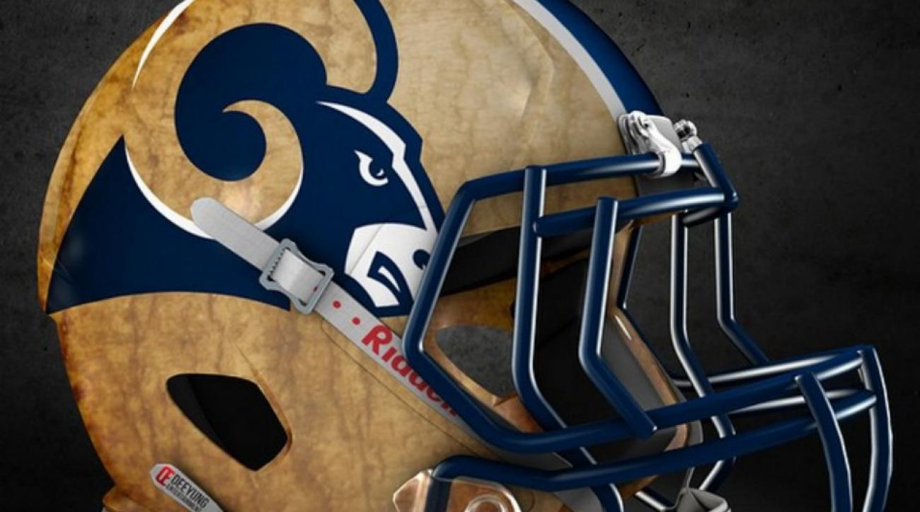 Fan makes alternate Helmets for all 32 NFL teams