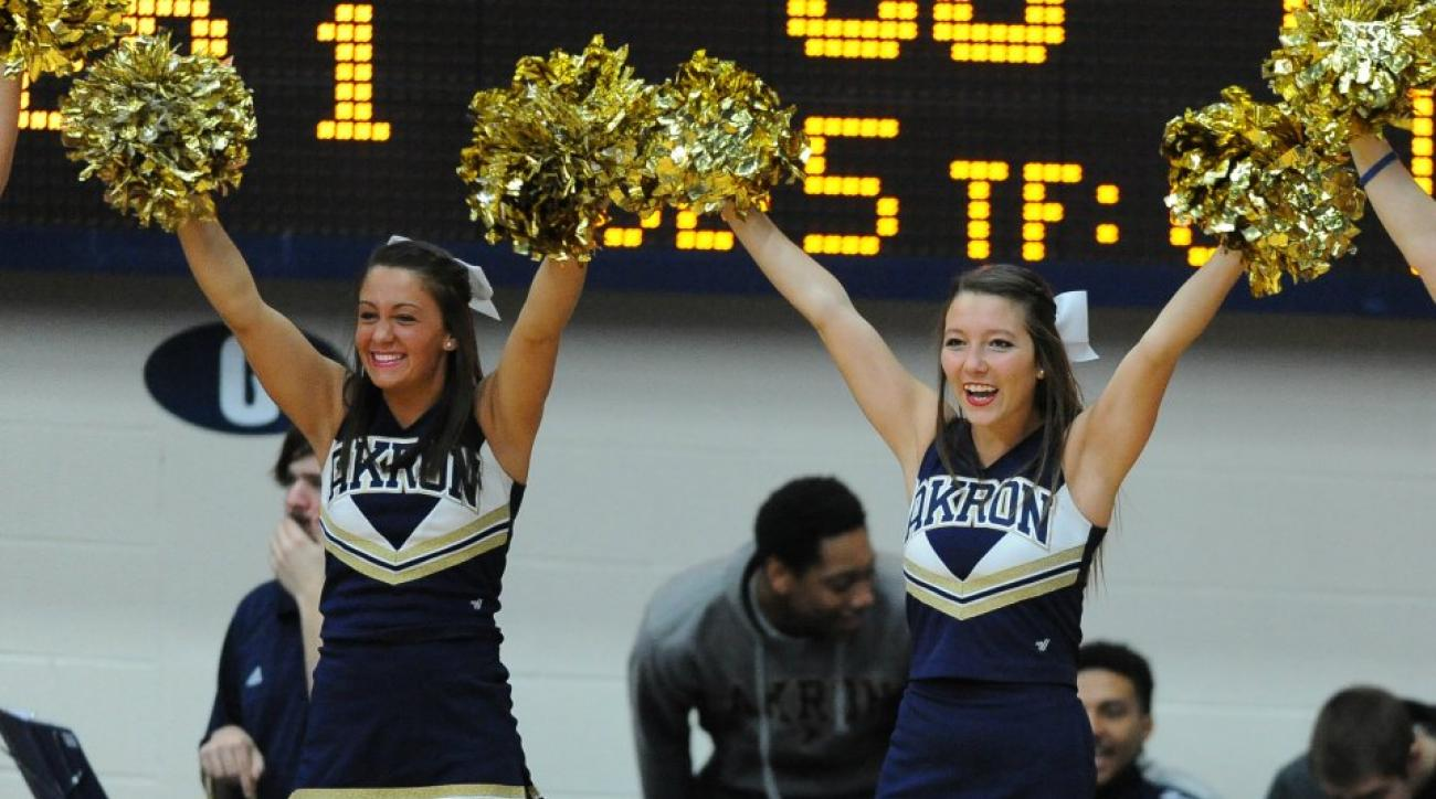 Akron is paying students to attend basketball games