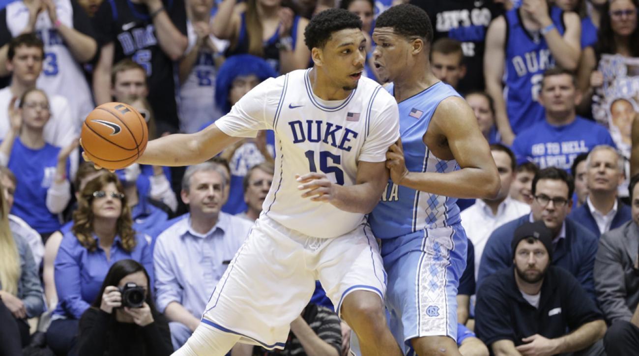 Duke edges UNC in overtime