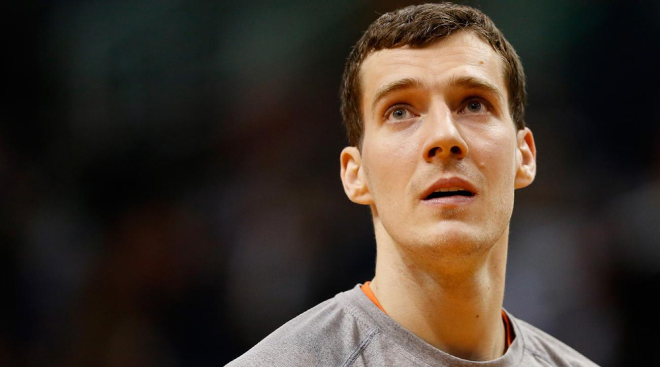 Goran Dragic has been traded from the Phoenix Suns to the Miami Heat.