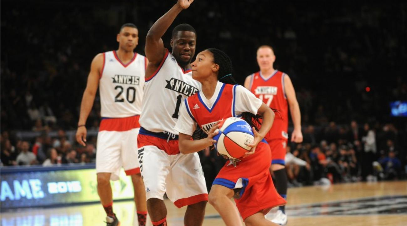 Kevin Hart on Mo'ne Davis: 'That little girl embarrassed me'