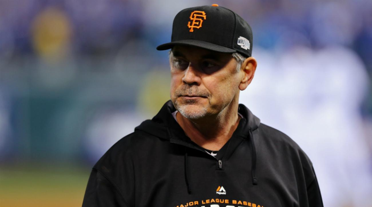 bruce bochy admitted to hospital san francisco giants