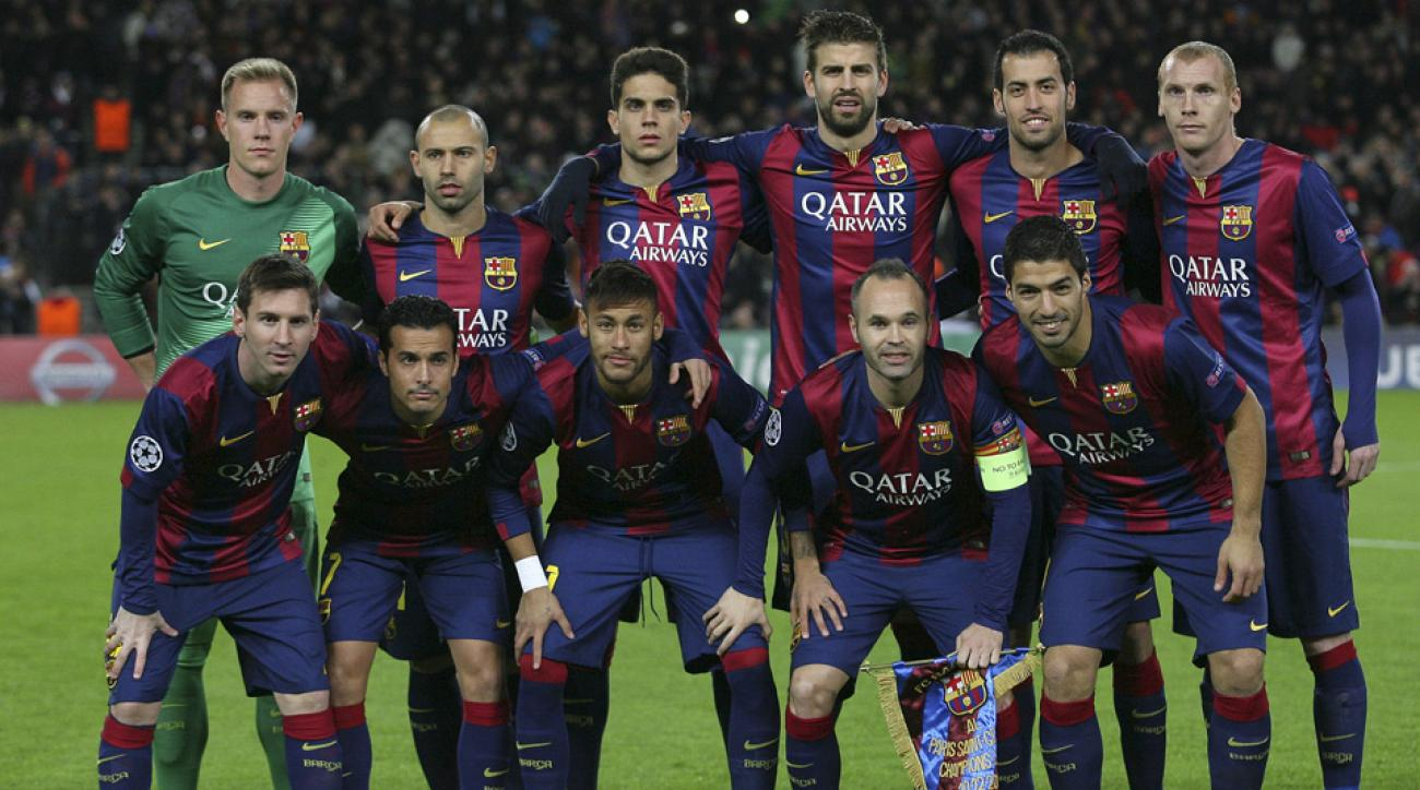 Barcelona takes on Man City in Champions League
