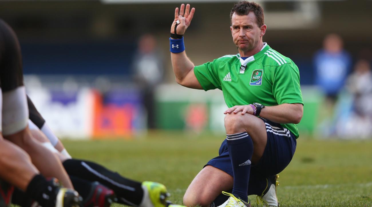 leinster rugby zebre nigel owens ref passport