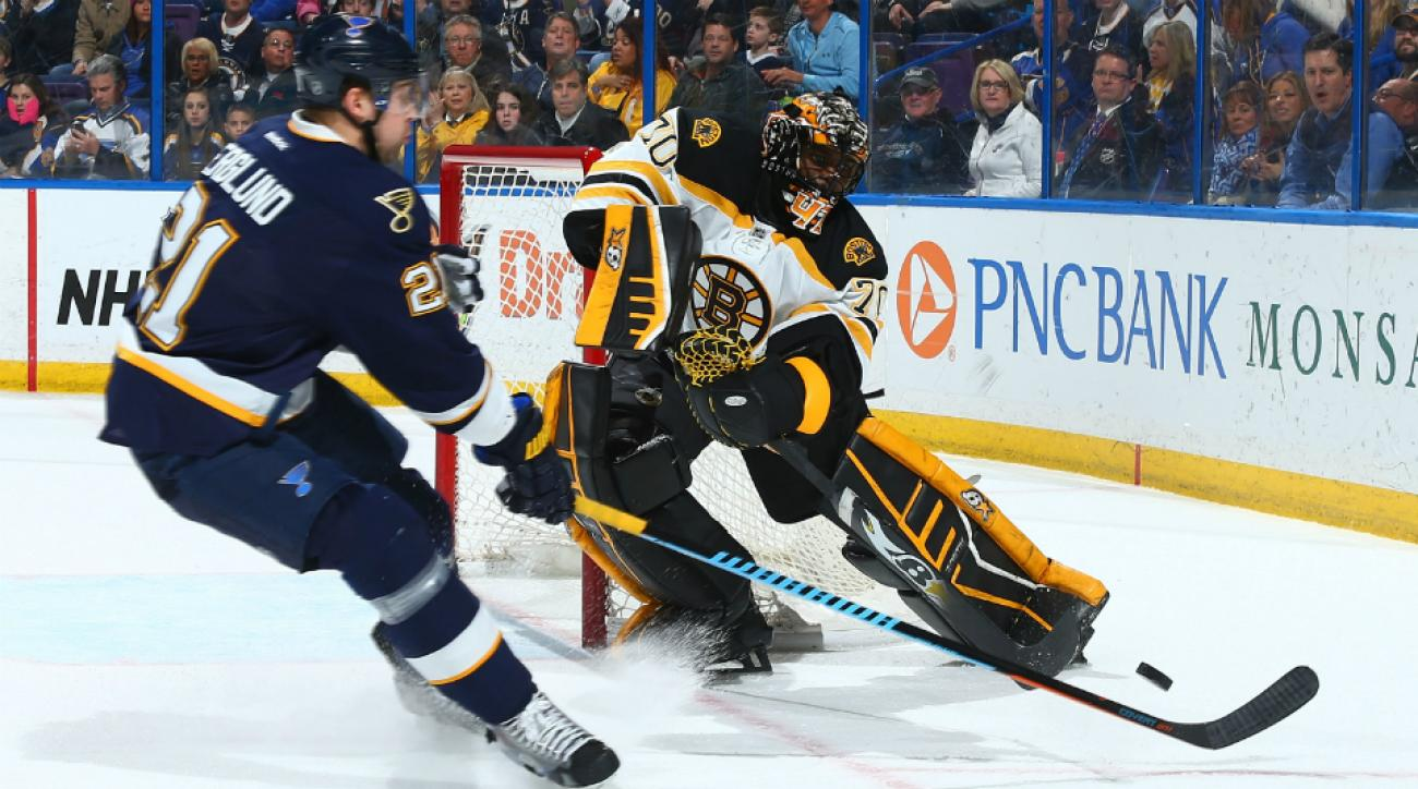 Malcolm Subban debut Bruins vs Blues