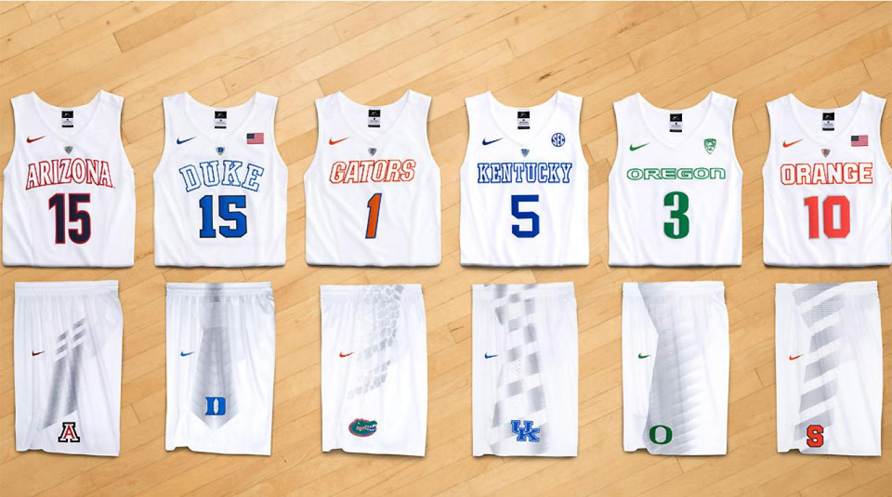 newest 7cd42 c8e56 Nike reveals eight new NCAA uniforms, includes 'wipe zones ...