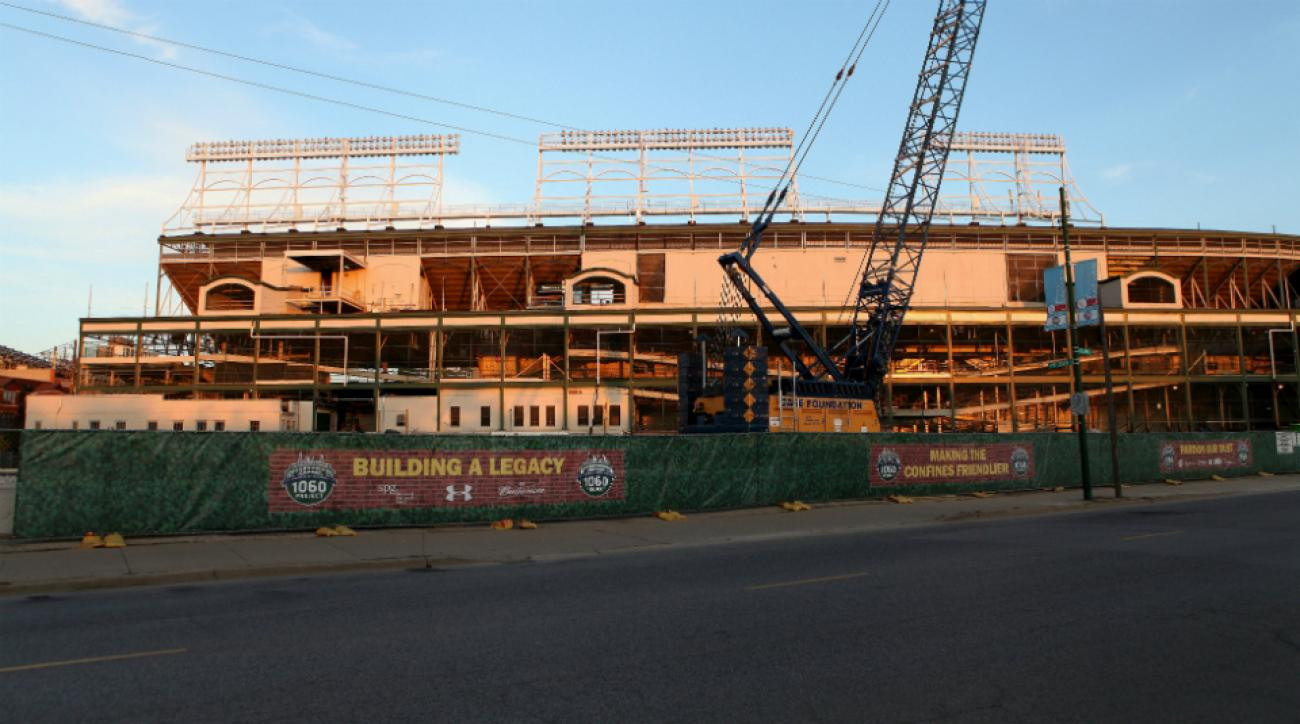 wrigley field renovations rats chicago cubs