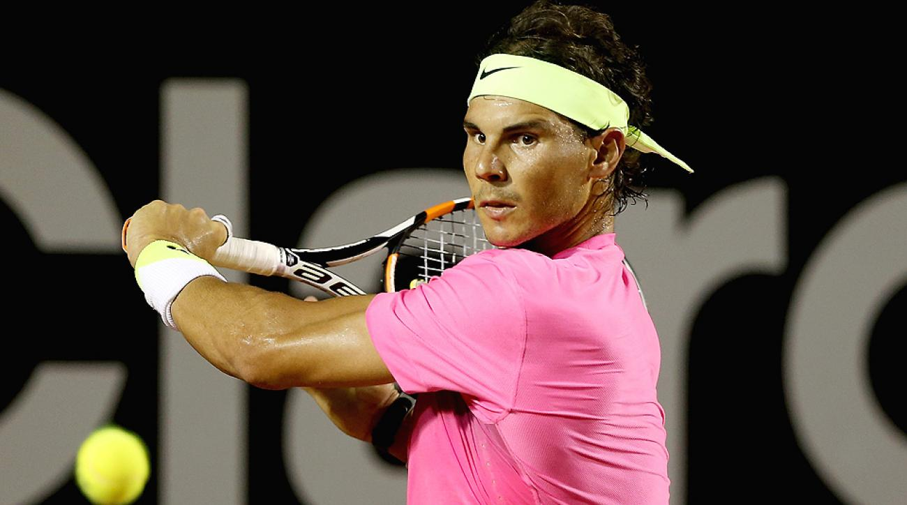No. 3 Rafael Nadal advanced to the semifinals of the Rio Open by defeating No. 23 Pablo Cuevas.