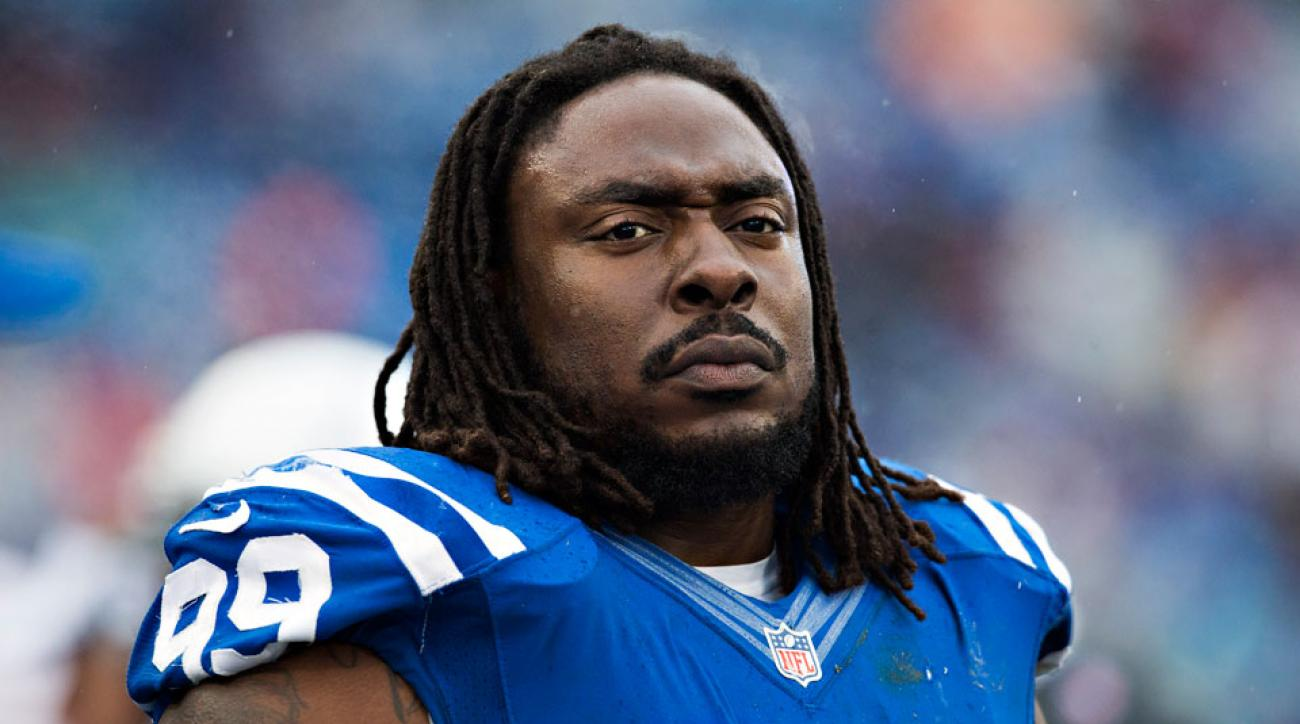 Indianapolis Colts Ricky Jean-Francois