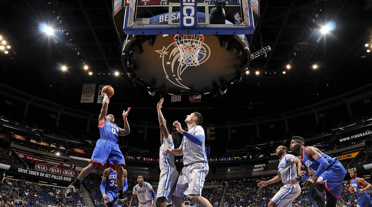 Isaiah Canaan Philadelphia 76ers three point shot miami heat