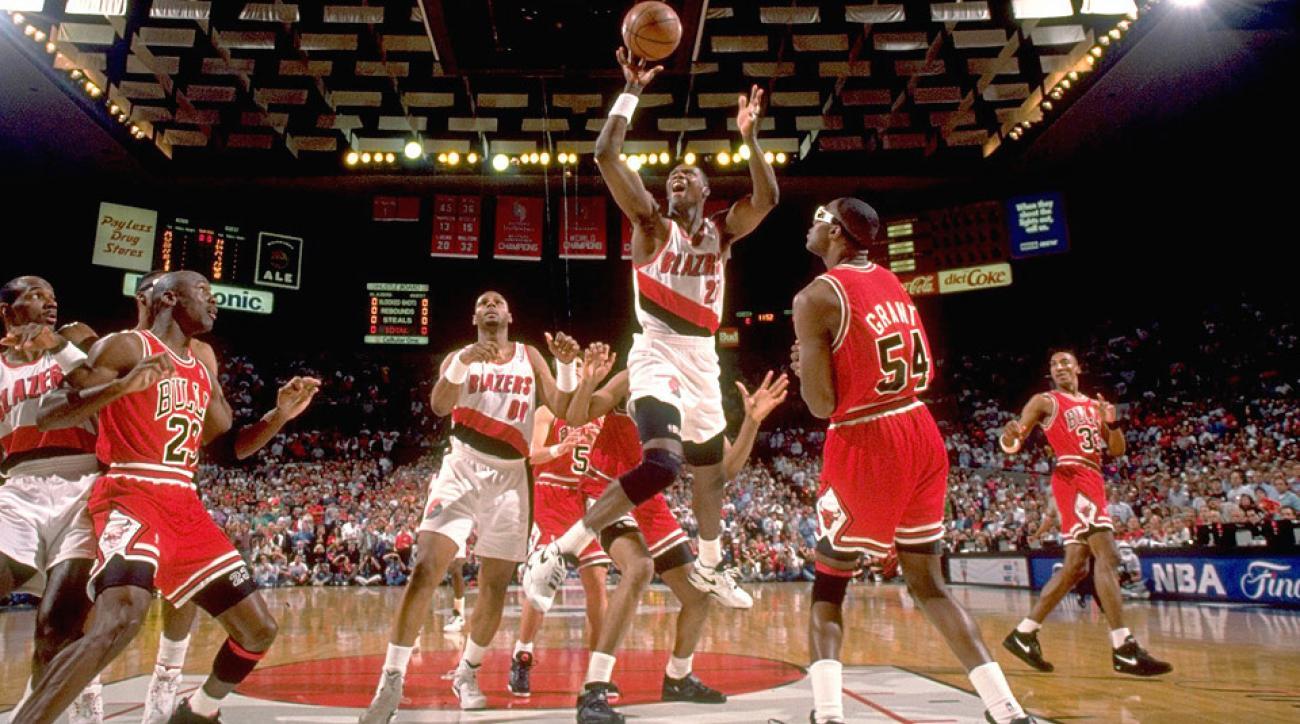 SI Vault: Unsung Jerome Kersey leads Blazers into 1992 NBA Finals | SI.com