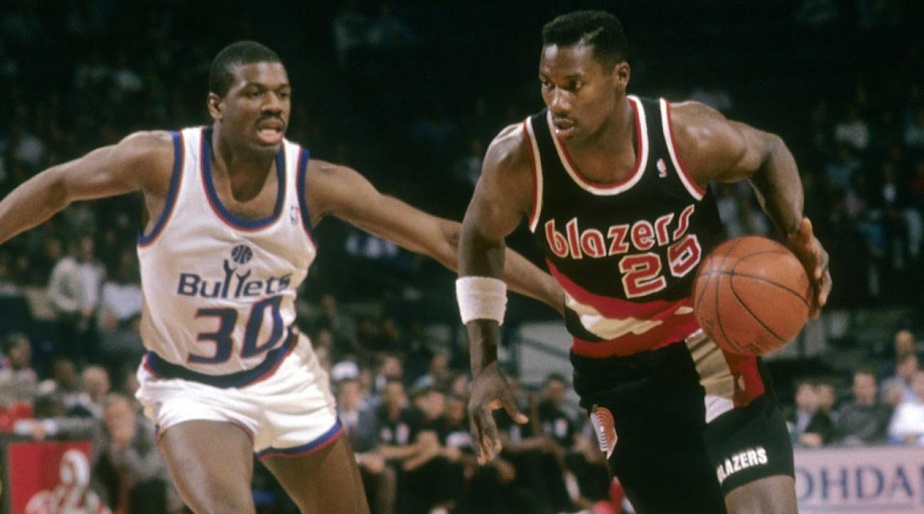 SI Vault Unsung Jerome Kersey leads Blazers into 1992 NBA Finals