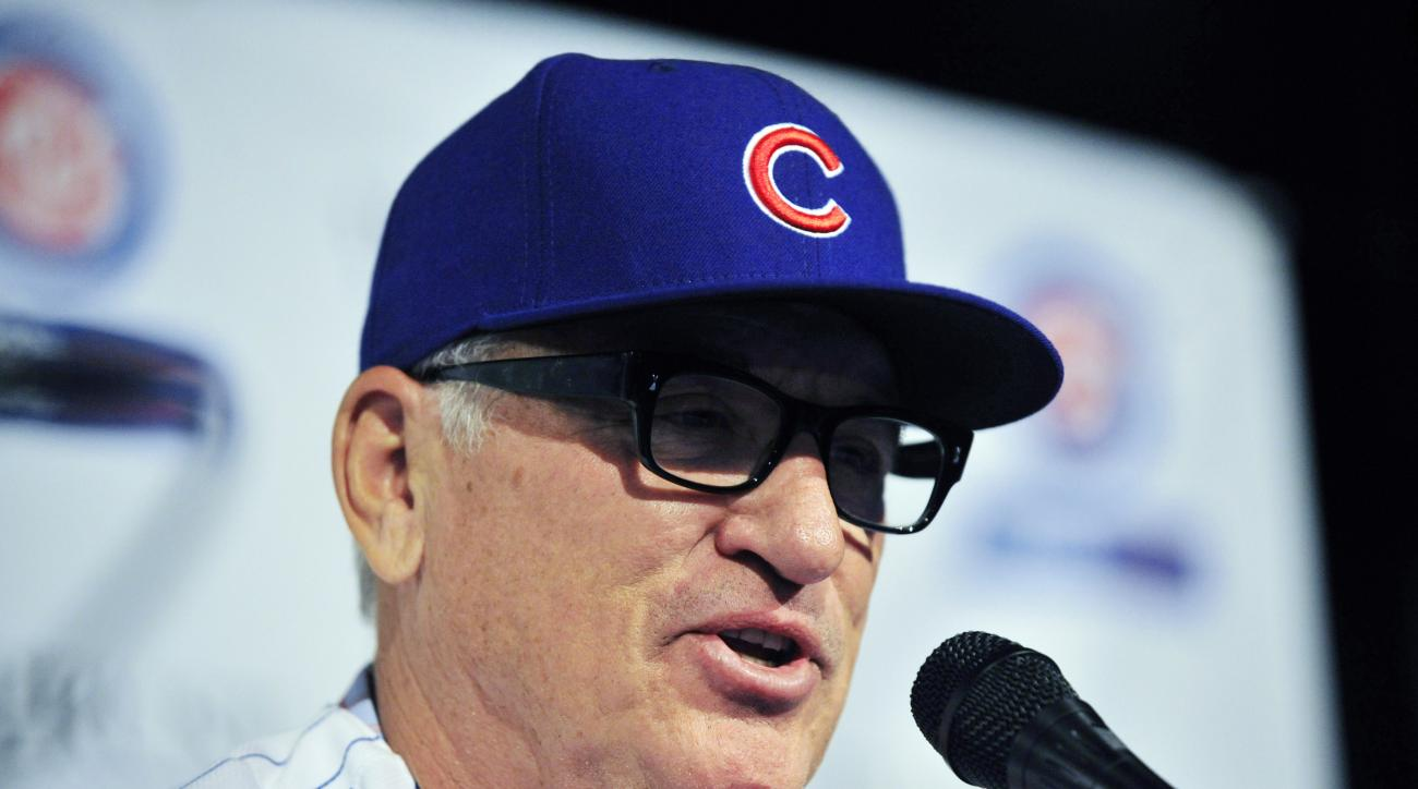 Joe Maddon Chicago Cubs MLB tampering