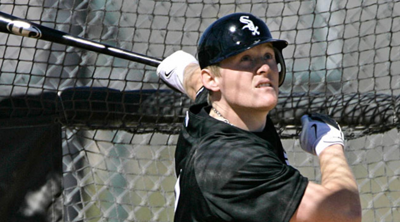Brian Anderson, shown in 2007, never became the star he was expected to be, but he's back in White Sox camp this spring.