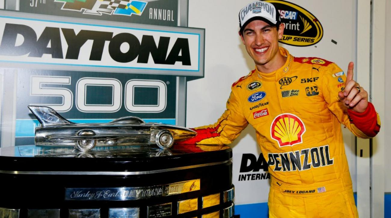 Daytona 500 champ Joey Logano does not know how much a ton weighs