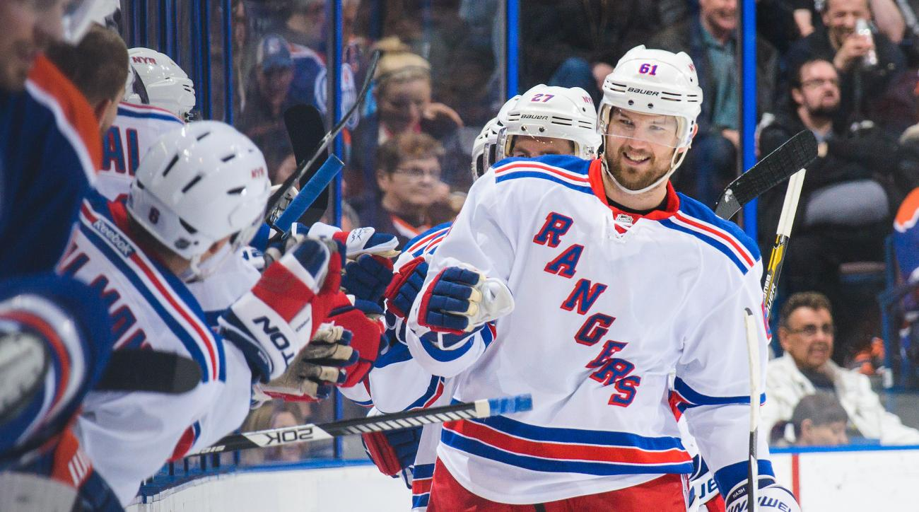 rick nash injury new york rangers neck spasms
