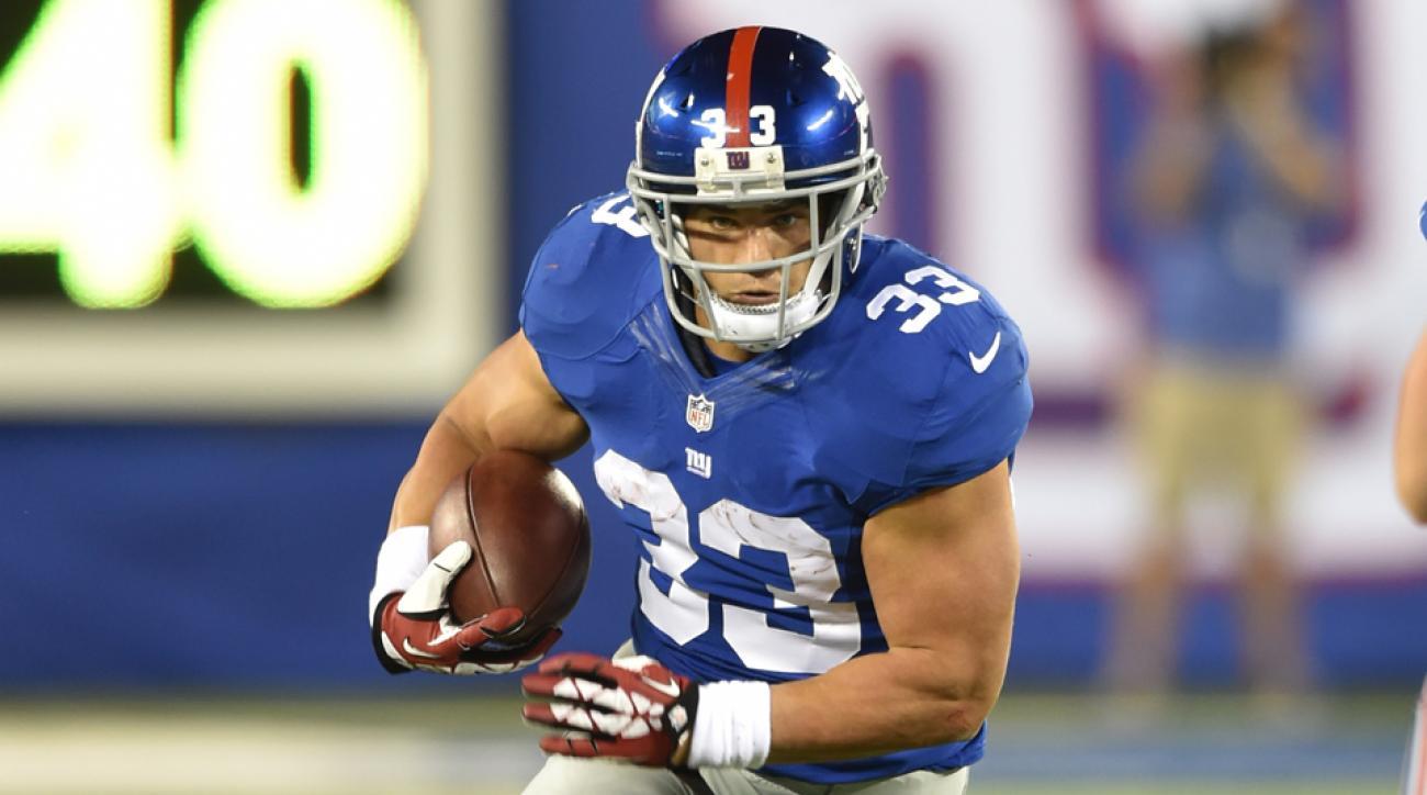 Giants release running back Peyton Hillis