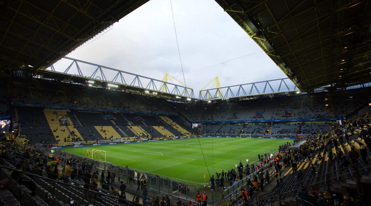 WWII bomb found outside Dortmund stadium