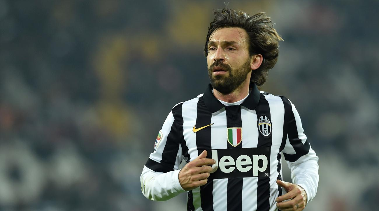 Andrea Pirlo calf Juventus