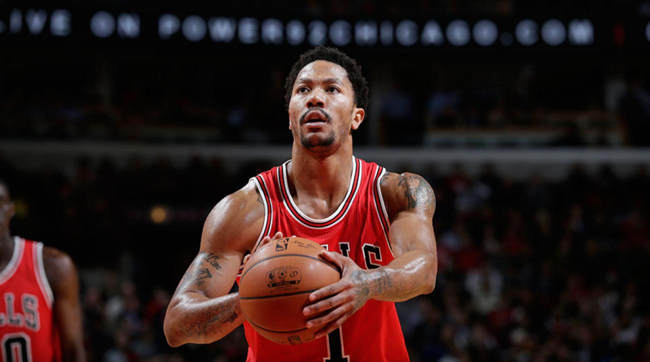 Chicago Bulls Derrick Rose