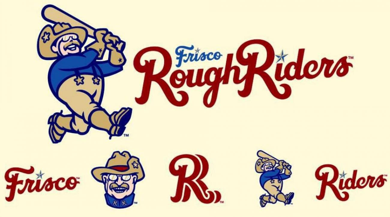 Teddy Roosevelt appears in new minor league logo