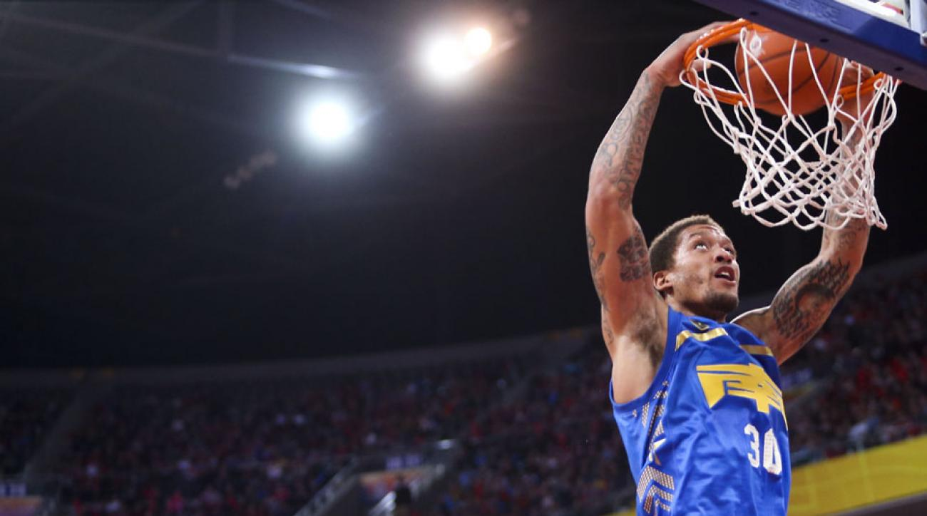 Michael Beasley ate some weird stuff in China.