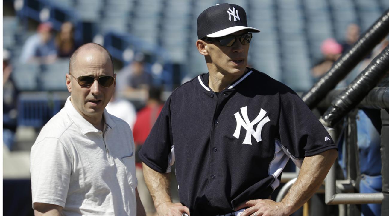 Yankees' Girardi, Cashman not on hot seat