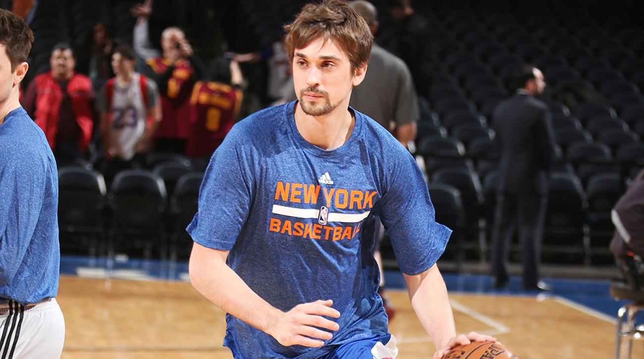 Alexey Shved had perhaps the blooper of the year against the Pistons.