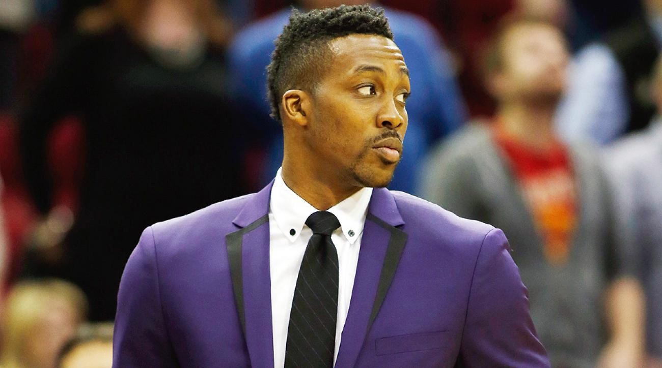 Dwight Howard remains out with a knee injury.